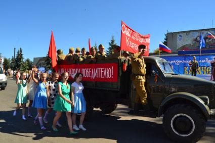 освобождавшие Карачев от