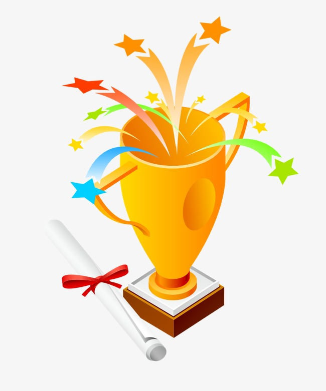 pngtree cartoon trophies png clipart 2708883